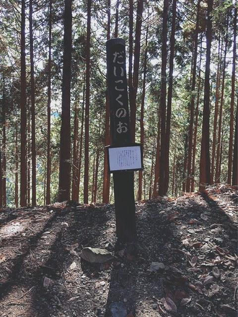 御岳山 ハイキング 表参道 だいこくのお